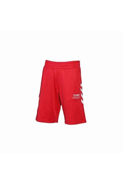 HUMMEL Erkek Kırmızı Şeritli Spor Şort