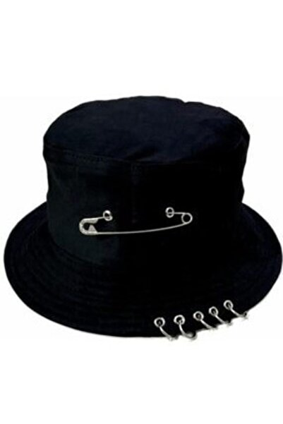Gökhan Club Kpop Piercingli Iğneli Balıkçı Şapka