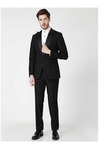 Fabrika Erkek Siyah Takım Elbise