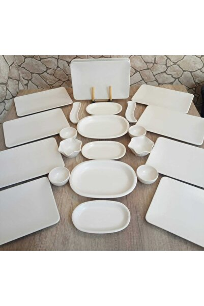 Bera 12 Kişilik Kahvaltı Takımı 25 Parça Kare