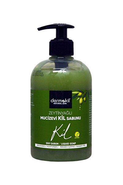 Dermokil Sıvı Sabun 500 Ml - Zeytinyağlı Mucizevi Kil Sabunu