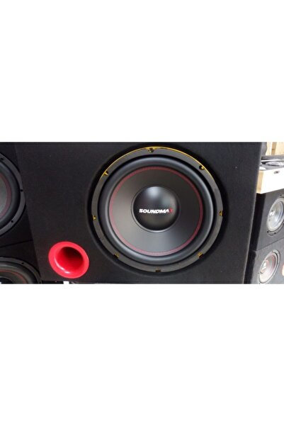 Soundmax Sx-fc12 30cm Subwoofer 1500watt 400rms Özel Kabinli Bass Sx30cm