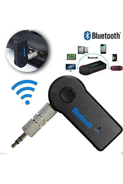 Techmaster Android ve IOS Uyumlu Bluetooth Aux Araç Kiti Teyp