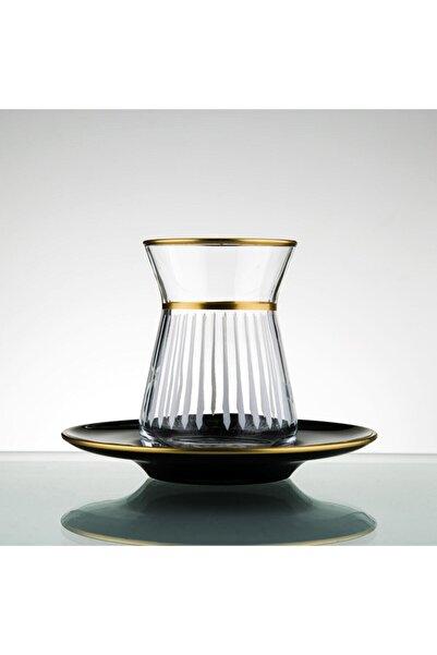 Paşabahçe El Yapımı 12 Parça 6 Kişilik Çay Seti