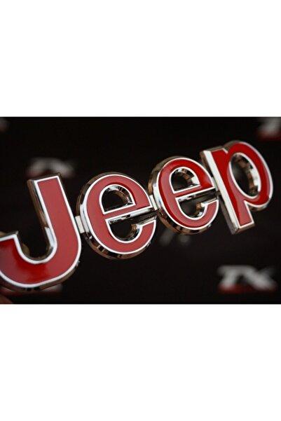 Jeep Logo Ön Panjur Vidalı 3d Krom Metal Logo Amblem