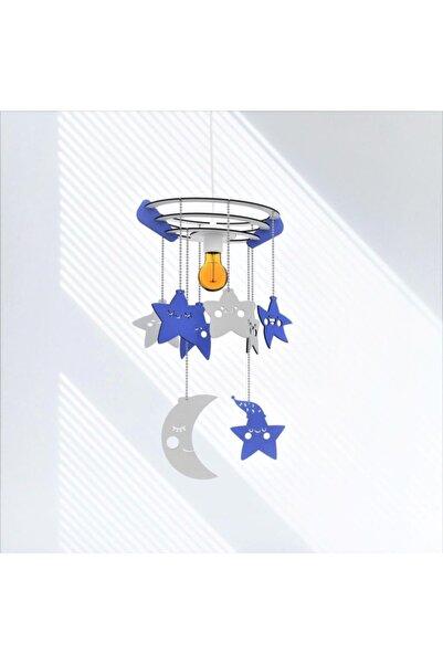 PRADO Woodact Agapantus Çocuk Bebek Odası Avize Mavi