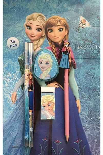 Frozen Elsa Elsa Lisanslı Kırtasiye Seti