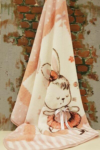 Özdilek Somon Dancer Bunny Bebek Battaniyesi