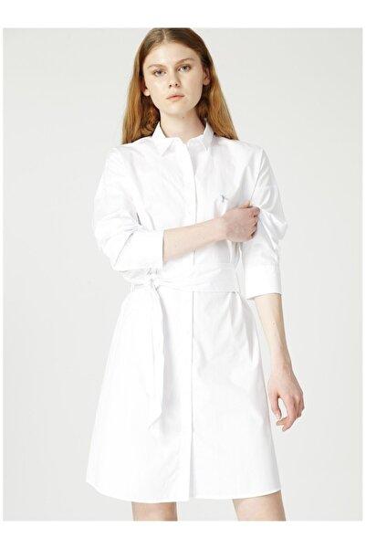Fabrika Kadın Beyaz Elbise