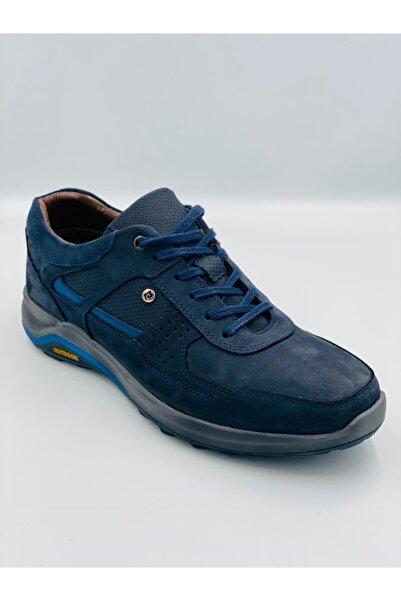 Pierre Cardin Kadın Lacivert Bağcıklı Deri Ayakkabı