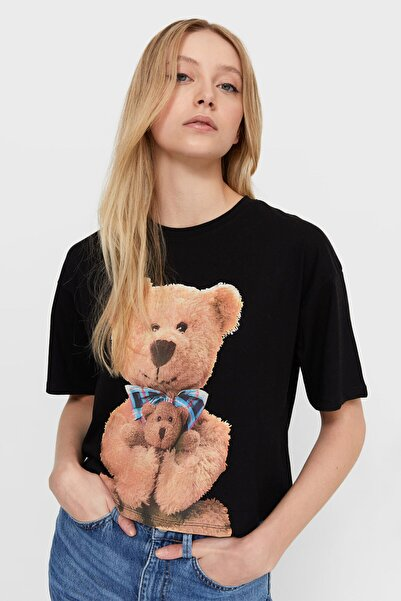Stradivarius Kadın  T-shirt