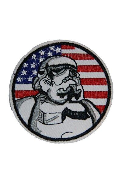 HALFART Uzaylı Nasa Arma Yama Patch Sticker (ütüyle Yapışan Arma)