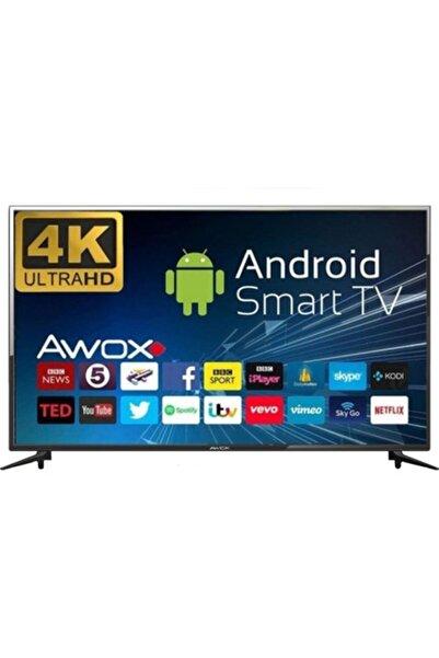 "AWOX B205000s 50"" 126cm 4k Ultra Hd, Dahili Uydu Alıcılı, Wifi, Android 7,0 Smart Led Televizyon"