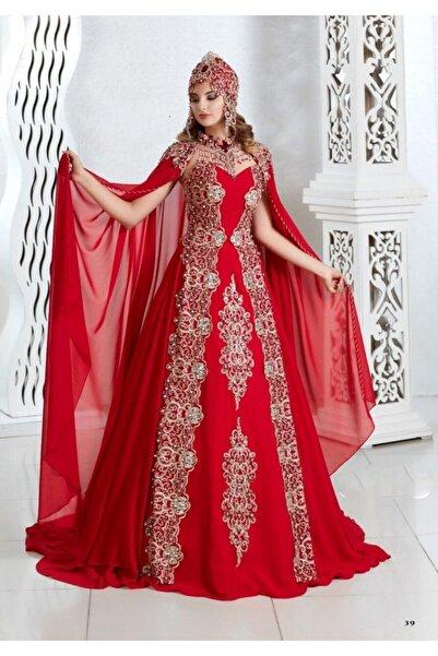 Ceyyiz 5 Parça Bindallı Kına Elbisesi Alev