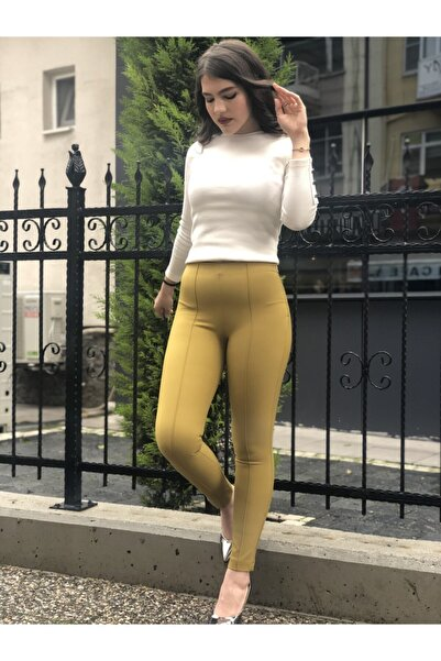 AYHAN Ütü Dikişli Tayt Pantolon
