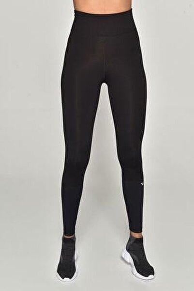 Siyah Kadın Yüksek Bel Toparlayıcı Sporcu Tayt GW-9107