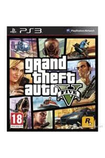 RockStar Games Gta 5 Gta V Grand Theft Auto 5 Ps3 Oyun