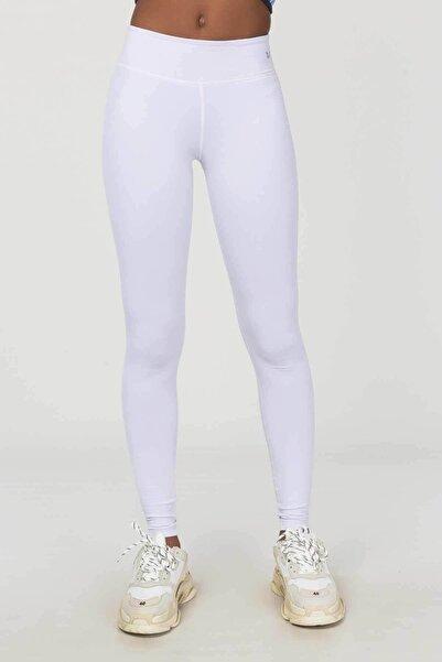 bilcee Beyaz Kadın Tayt Es-4229
