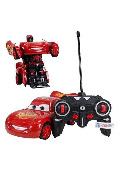 CARS Şimşek Mcqueen Uzaktan Kumandalı Robota Dönüşen Araba