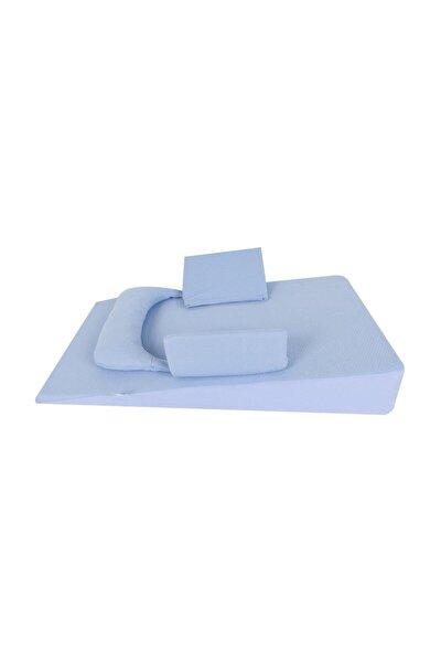Sevi Bebe Bebek Reflü Yatağı Mavi /