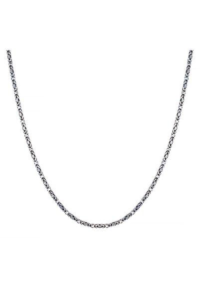 Candie Silver 2,5mm-60 Cm-24,5 gr Kral Zincir 925 Ayar Gümüş Kolye