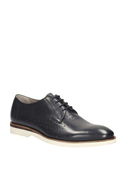CLARKS Hakiki Deri Lacivert Erkek Ayakkabı 261142717