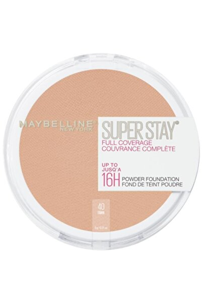 Maybelline New York Superstay 16H Pudra - 40 Fawn