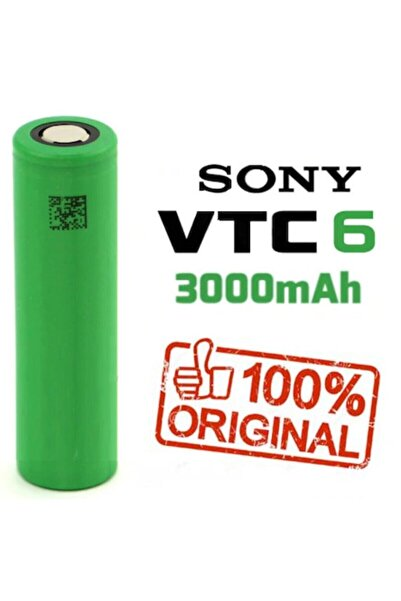 Sony Vtc6 Pil %100 Orjinal 3000 Mah 18650 Vtc 6