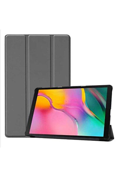 zore Galaxy T720 Tab S5e Uyumlu Standlı Kılıf Katlanabilir Tablet Kılıfı