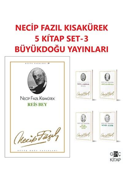 Büyük Doğu Yayınları Necip Fazıl Kısakürek 5 Kitap Set 3 Reis Bey-iman Ve Aksiyon-abdülhamid Han