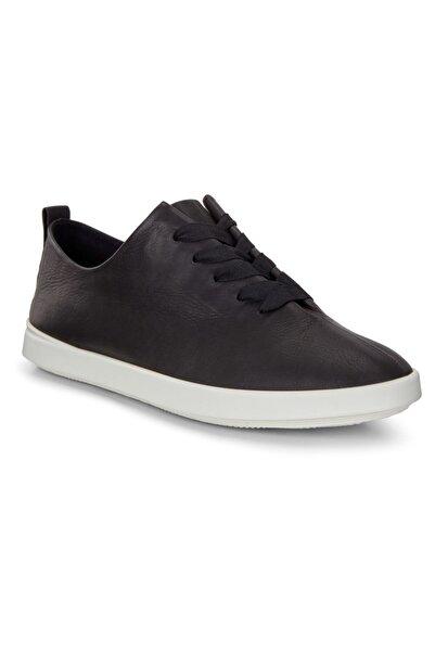 Ecco Kadın Siyah Oxford Ayakkabı 20506301001 Leısure Black