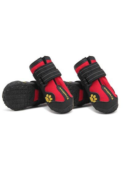 True Love , Kırmızı, Suya Dayanıklı, Kauçuk Köpek Ayakkabısı