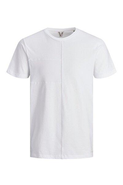 Jack & Jones Erkek Beyaz T-Shirt
