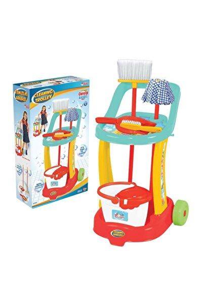 FEN TOYS Candy & Ken Temizlik Arabası Temizlik Oyun Seti
