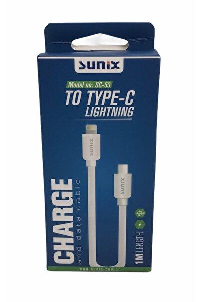 Sunix Iphone Type-c To Lightning Şarj Data Kablosu 1 Metre