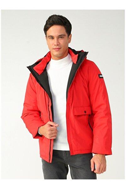 AEROPOSTALE Erkek Kırmızı Mont