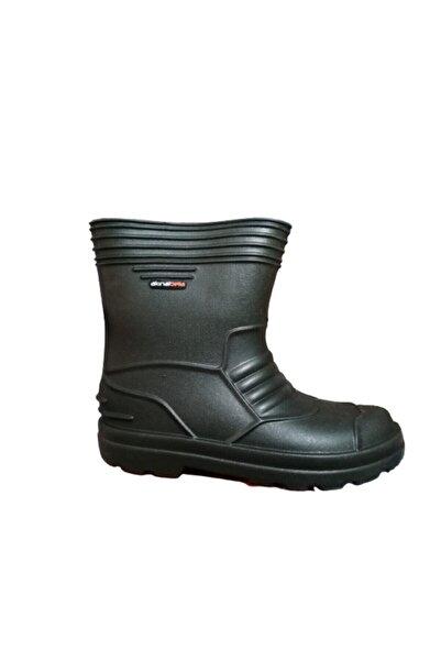 Akınal Bella Ab80-10 Unisex Eva Ultra Hafif Poli Taban Kısa Yağmur Çizmesi