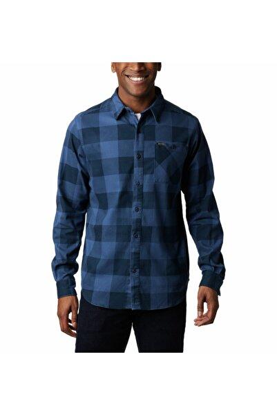 Columbia Erkek Mavi Elements Printed Flannel Gömlek