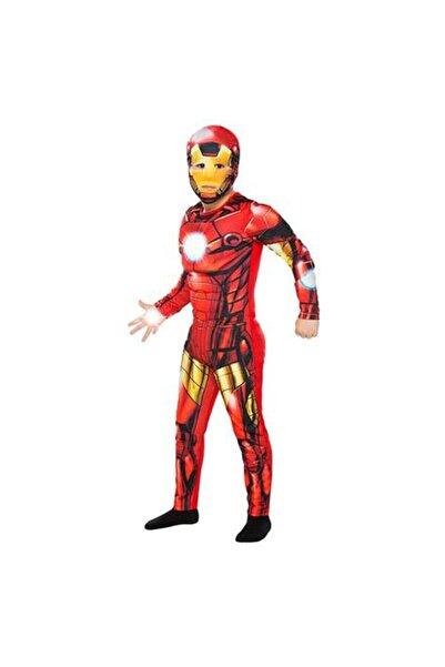 Rubies Trio 4-6 Yaş Iron Man Karakter Kostümü