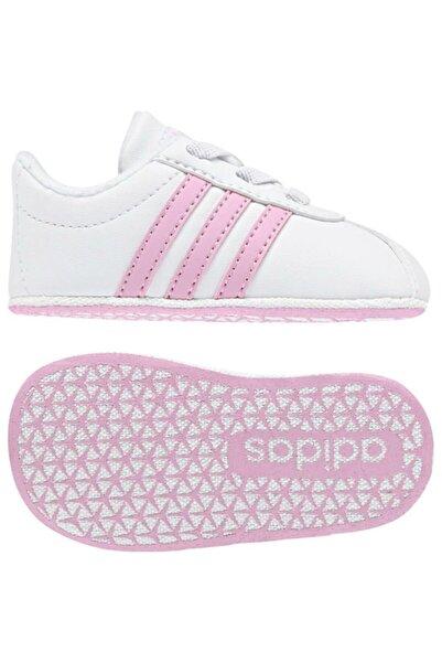 adidas Bebek Beyaz Vl Court 2.0 Crib Ayakkabı F36603