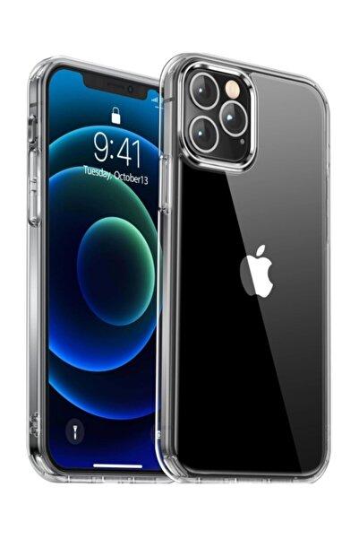 MobilCadde Iphone 12 / 12 Pro Uyumlu 6.1 Inç Şeffaf Silikon Kılıf