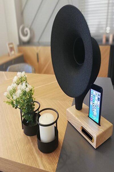 İDEAL TASARIM Grammy Akustik Gramafon Müzik Aleti Dekoratif Ürün Hediyelik Eşya