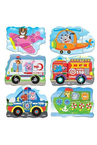M90 Circle Toys Baby Puzzle Araçlar