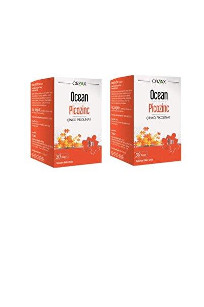 Ocean Ocean Picozinc Çinko Pikolinat 15 Mg 30 Tablet X2 Adet