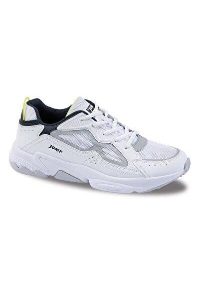 Jump Unisex Beyaz Günlük Casual Confort Spor Ayakkabısı  24712
