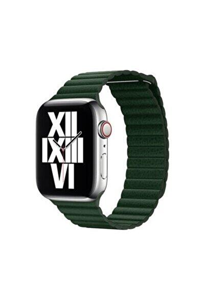 zore Apple Watch 42mm Uyumlu Deri Lop Kordon