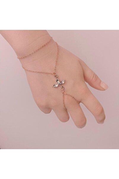 The Shirret Accessories Rose Oval Taşlı Şahmeran