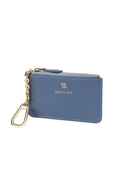 Happy-Nes Kadın Mavi Mini Cüzdan HPNCZD002