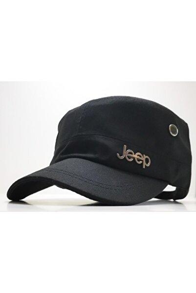 DMONA Jeep Castro Tarzı Siyah Şapka