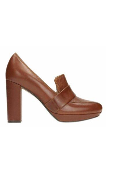 CLARKS Kadın Bronz Hakiki Deri Gabriel Soho Ayakkabı
